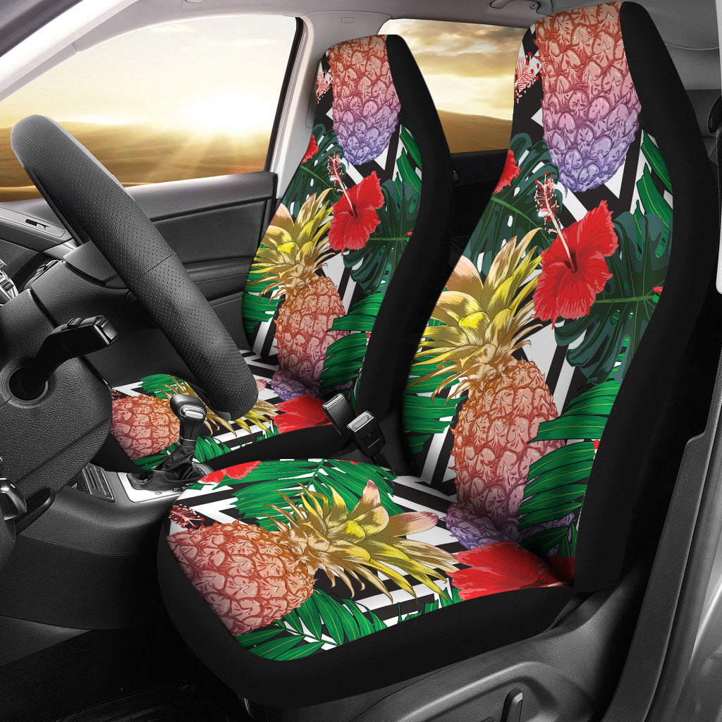 Summer Pineapple Car Seat Covers
