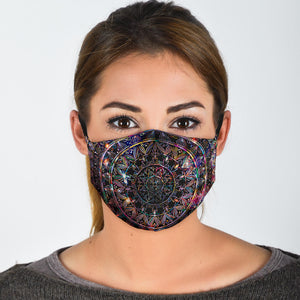 Astral Mandala Face mask