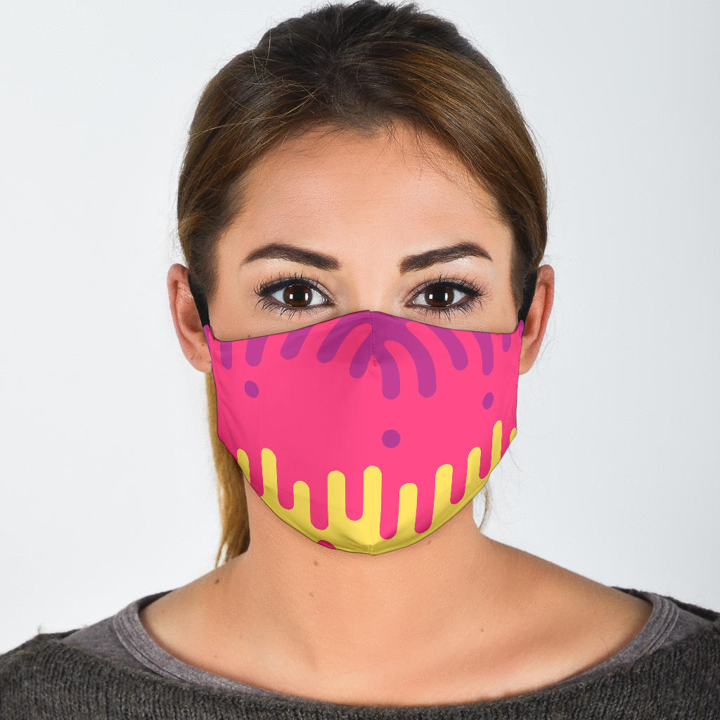 Funky Colors Face Mask