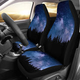 Nocturnal Woods Car Seat Covers