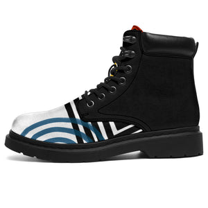 Retro Abstract Classic Boots