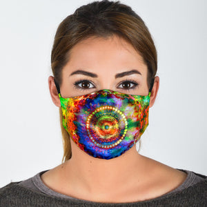 Hazy Mandala Face Mask