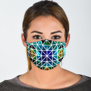 Astral Mosaic Face Mask