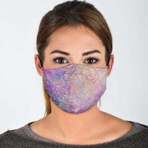 Seamless Waves Face Mask