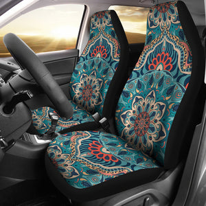 Flourishing Mandala Car Seat Covers