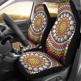 Pearl Mandala Car Seat Covers