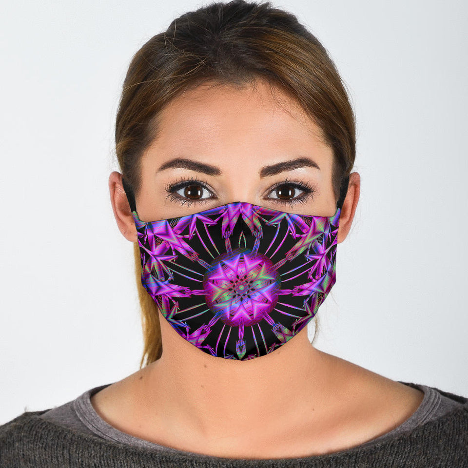 Sparkle Mandala Face Mask