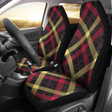Plaid Car Seat Covers