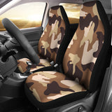 Brown Camo Car Seat Covers