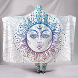 Sun and Moon Hooded Blanket