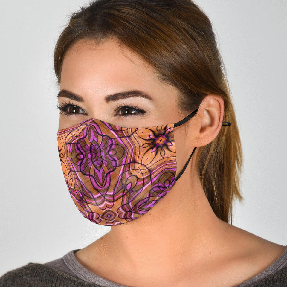 Abstract Mandala Face Mask