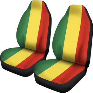 Rasta Reggae Car Seat Covers