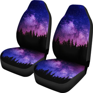 Purple Woods Car Seat Covers