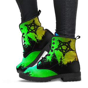 Pentagram Woods Leather Boots