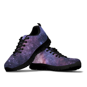 Purple Galaxy Sneakers