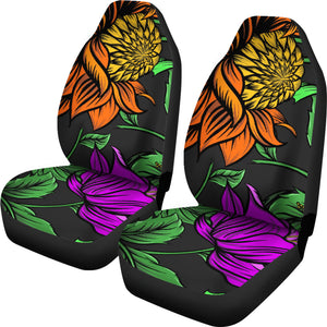 Floral Jungle Car Seat Covers