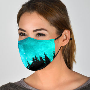Galaxy Woods Face Mask