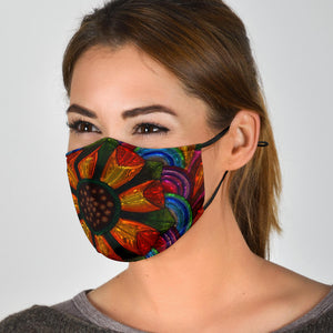 Colored Glass Face Mask