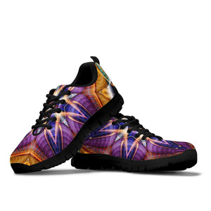 Psychedelic Fractal Sneakers
