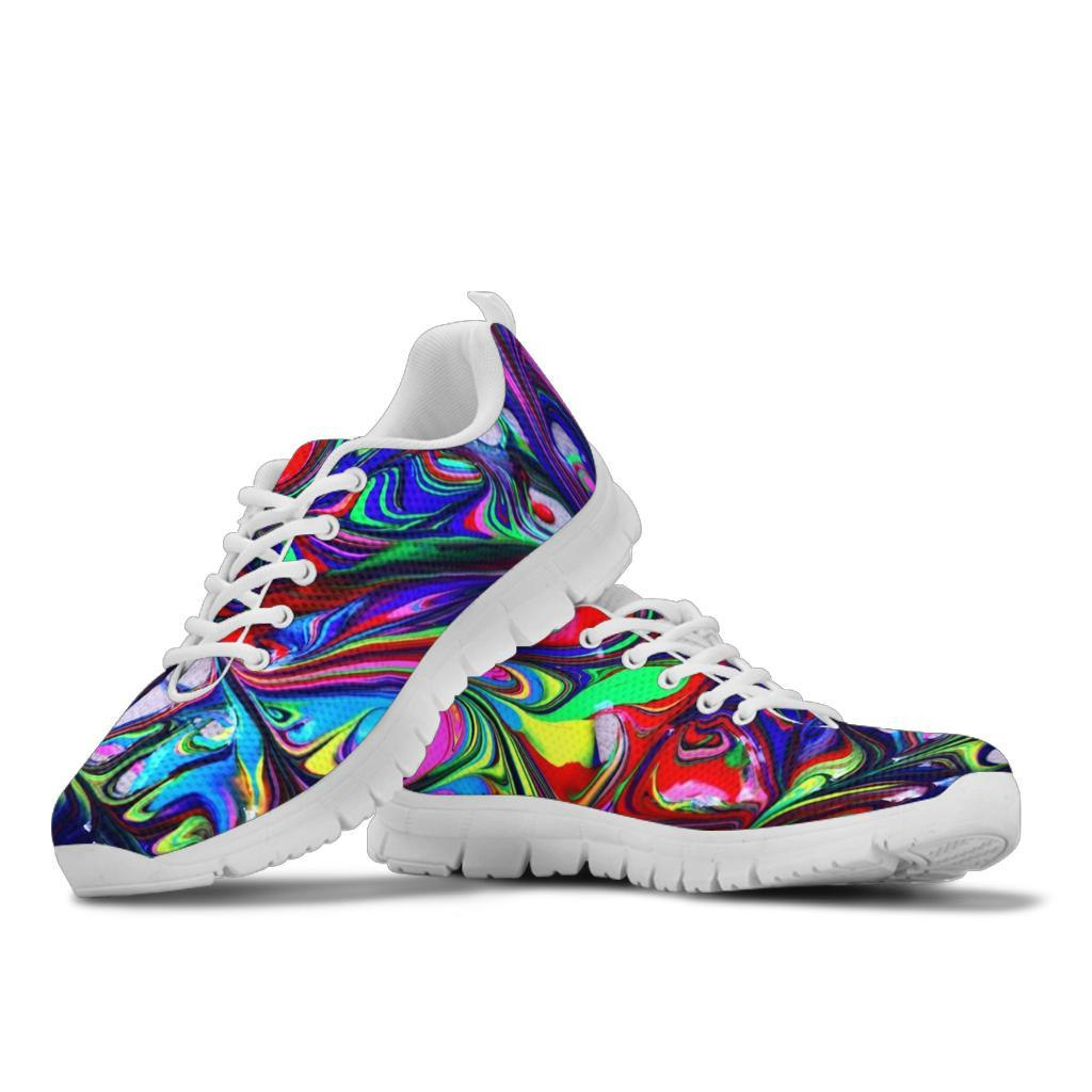 Color Melt Sneakers