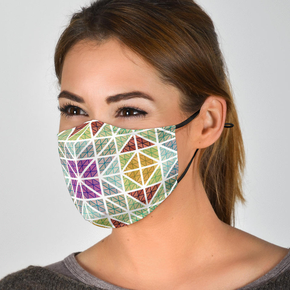 Mosaic Tile 2 Face Mask