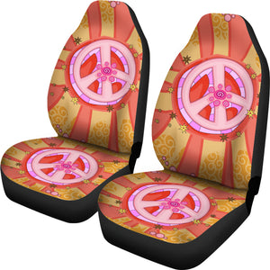 Hippie Peace Car Seat Covers