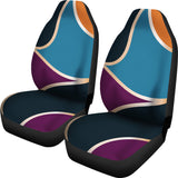 Abstract Shapes Car Seat Covers