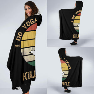 Yoga Hooded Blanket