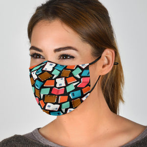 Book Lover Face Mask