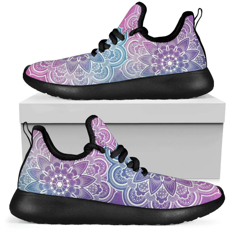 Cotton Candy Mandala Sneakers
