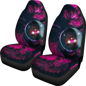Pink Galactic Car Seat Covers