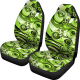 Green Trip Car Seat Covers