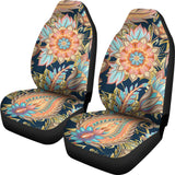 Mandala Paisley Car Seat Covers
