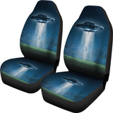 Alien Abudction Car Seat Covers