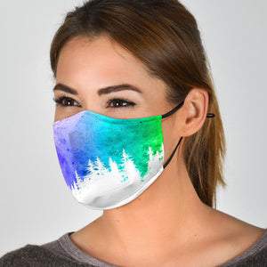 Rainbow Woods Face Mask