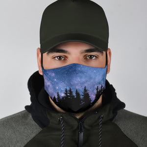 Nocturnal Woods Face Mask