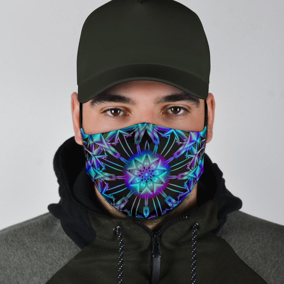 Space Mandala Face Mask