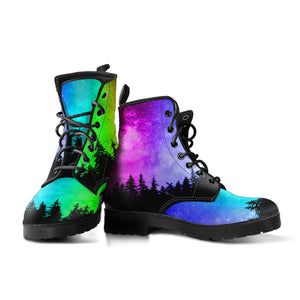 Neon Woods Leather Boots