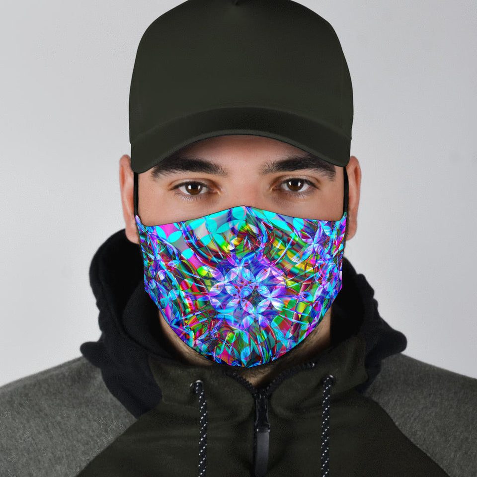 Abstract K1 Face Mask