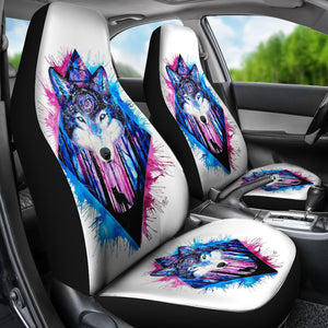 Mystic Wolf Car Seat Covers