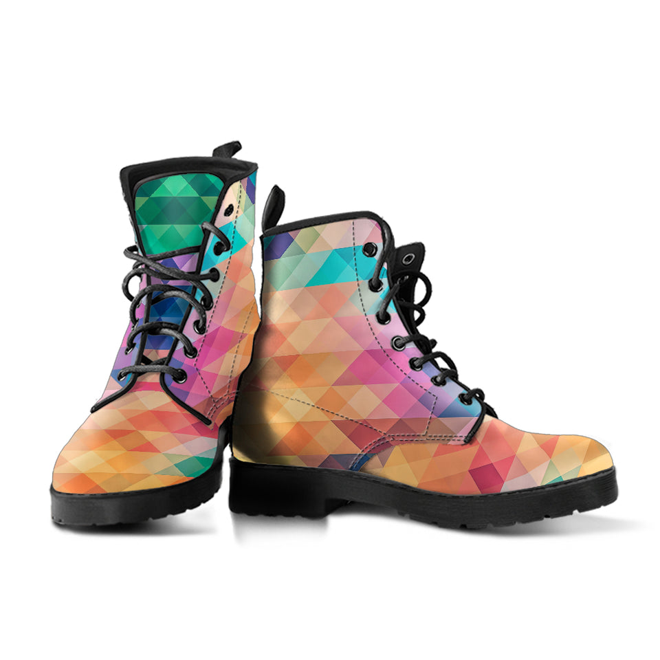 Mosaic Cubic Boots