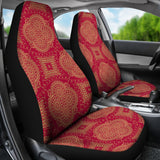 Royal Red Car Seat Covers