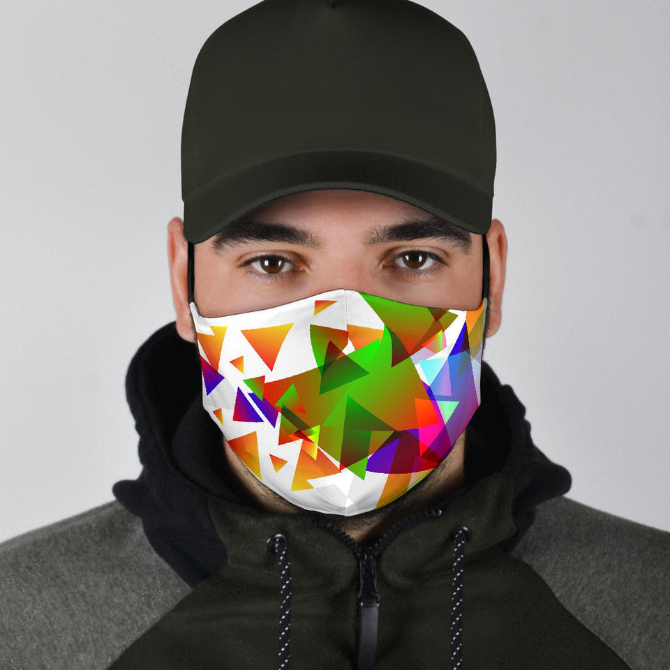 Triangular Explosion Face Mask