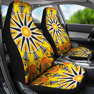 Sun Mandala Car Seat Covers