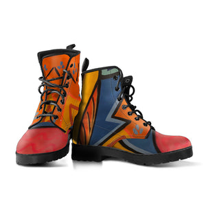 2D Abstract Boots
