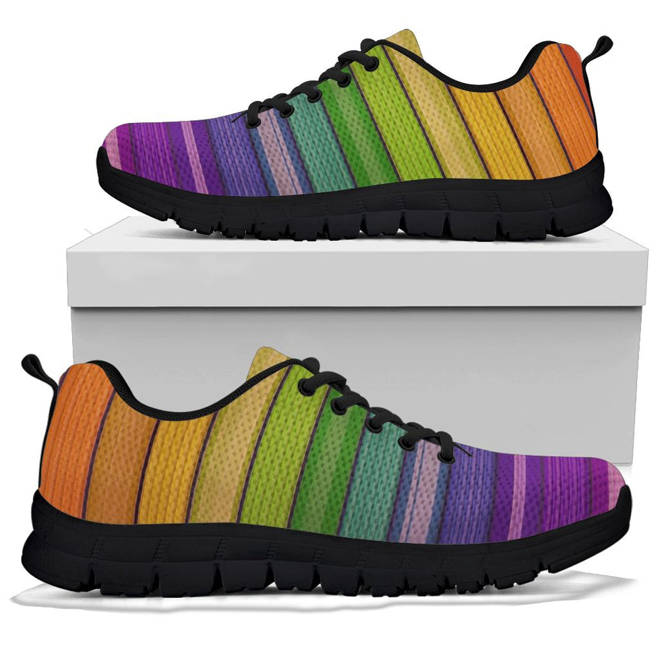 Rainbow Wall Sneakers