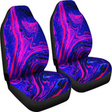 Violet Drip Car Seat Covers