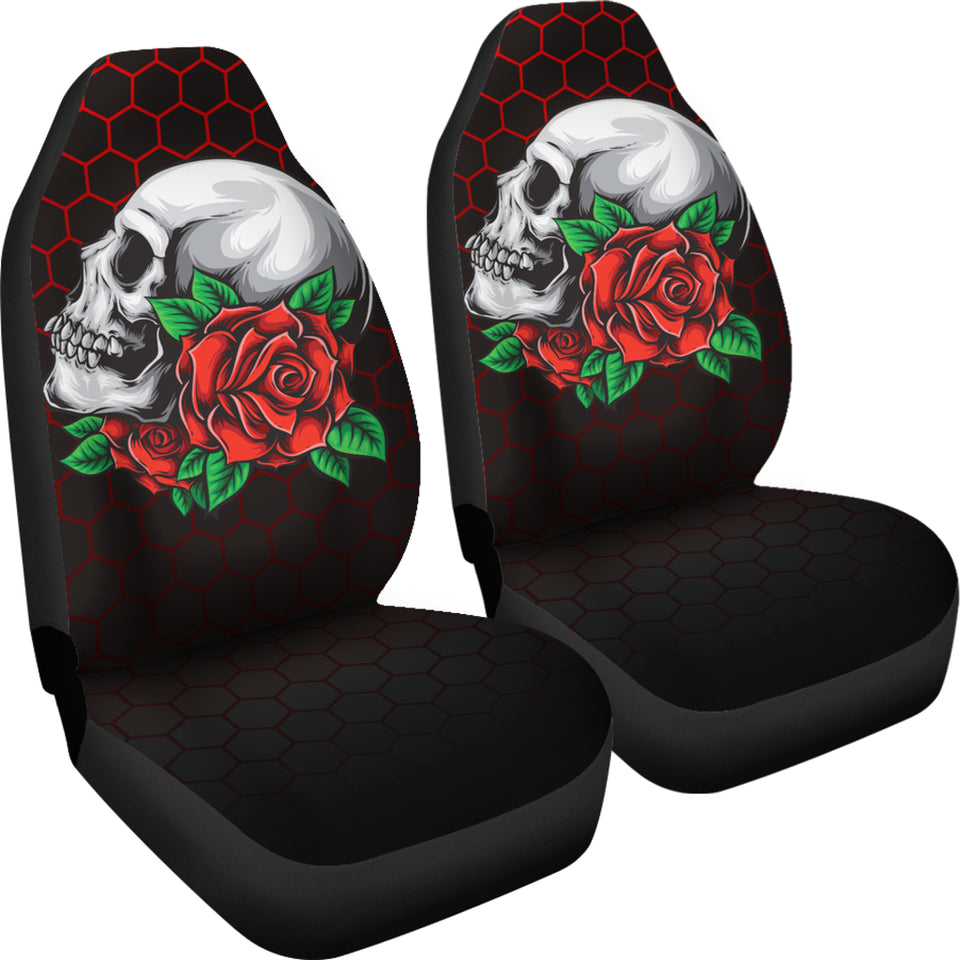 Skull & Roses Car Seat Covers