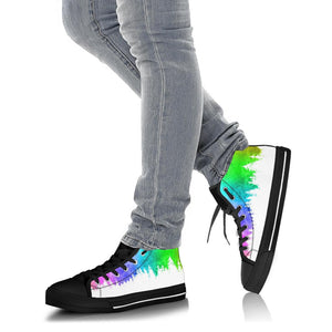 Rainbow Woods High Tops