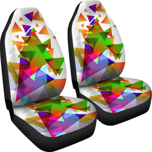 Explosion Cubes Car Seat Covers